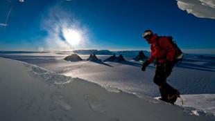 Antarktika'da tarihe geçen kavga
