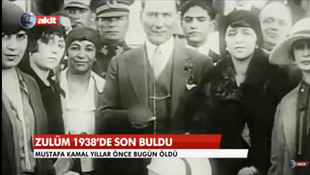 ''Zulüm 1938'te son buldu'' skandalında yeni gelişme