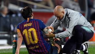 Lionel Messi'yi hiç böyle görmediniz !
