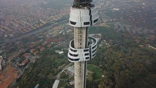 Çamlıca Kulesi'nin son hali böyle görüntülendi