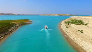 Atatürk Barajı'nda alabalık yetiştirilecek