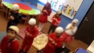 3 yaşındaki çocuklara tartışma yaratan namaz eğitimi