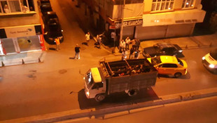 İstanbul'da kamyon kasasında insan kaçakçılığı