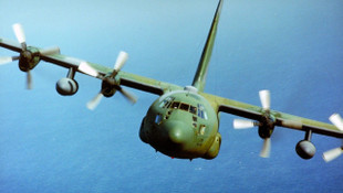 ABD askeri uçağı düştü ! Çok sayıda ölü var