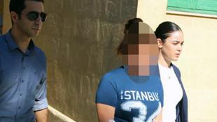 17 yaşındaki genç kız elinde bıçakla sokağa fırladı