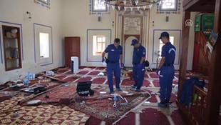 Tarihi camiye saldırı ! Zanlı yakalandı