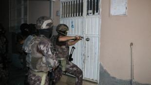 PKK yandaşlarına şafak baskını