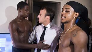 Macron'un fotoğraf çektirdiği kişi öyle biri çıktı ki...