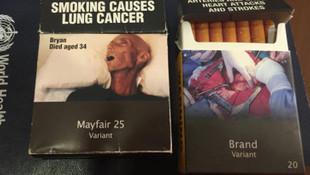 Yeni sigara paketleri böyle olacak