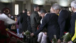 Fenerbahçe camiası Atatürk'ün huzurunda