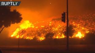 ABD'deki yangın can alıyor: 23 ölü