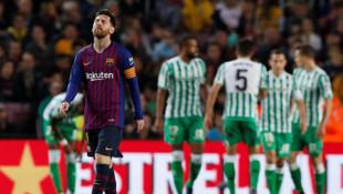 Barcelona 3 - 4 Real Betis (Maç özeti)