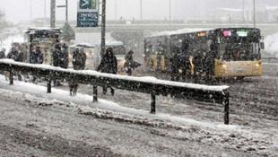 Meteoroloji'den bir uyarı daha ! Kış geliyor...