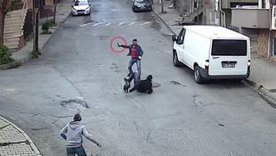 Sokak ortasında defalarca bıçakladı !