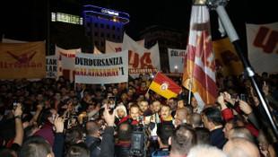 Galatasaray taraftar grubu ultrAslan'dan TFF'ye protesto