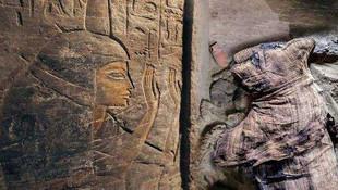 Mısır'da kedi ve böcek mumyası bulundu