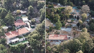 Adnan Oktar'ın villasının son hali böyle görüntülendi