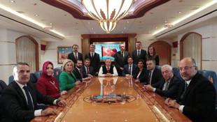 Erdoğan'ın tartışılan uçağının içinden ilk fotoğraf