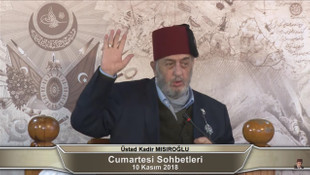 Kadir Mısıroğlu, Diyanet Başkanı Ali Erbaş'ı ''Şeyhülislam'' ilan etti