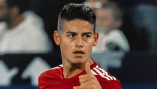 Bayern Münih'e James Rodriguez'den kötü haber
