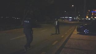 Rastgele ateş açan şahıs polisi alarma geçirdi