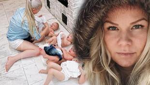 10 çocuk annesi kadın sosyal medyayı salladı