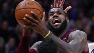 Lebron rekor kırdı, Los Angeles Lakers kazandı