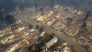 California'daki felakette ağır bilanço: Ölü sayısı 66'ya yükseldi