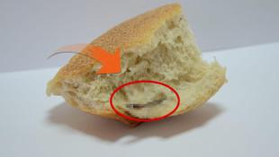 Ekmeğin içinden bakın ne çıktı !