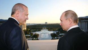 Erdoğan ile Putin İstanbul'da bir araya geliyor