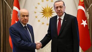 Erdoğan ile Bahçeli'den kritik ittifak görüşmesi