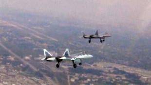 Hayalet uçak Suriye'de görüntülendi