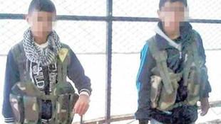 PKK'dan hain oyun ! 9-10 yaşlarındaki çocukları...