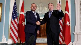 Bakan Çavuşoğlu'ndan ABD'de kritik görüşme