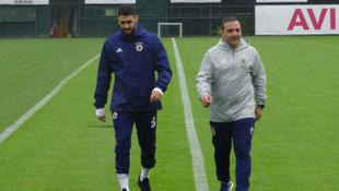 Fenerbahçe'de Tolga Ciğerci idmana çıktı