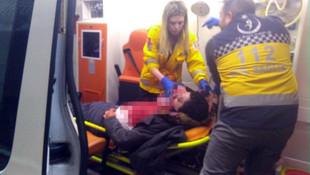 Şişli'de lüks otomobile silahlı saldırı: 2 yaralı