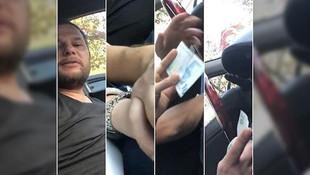 Turisti taciz edip dolandıran taksiciye büyük şok !