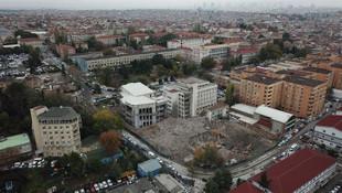 Cerrahpaşa Tıp Fakültesi yıkıldı; işte yeni hali