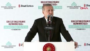 Cumhurbaşkanı Erdoğan: ''Gördüğümde gurur duyuyorum''