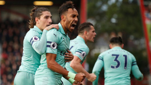 Bournemouth 1 - 2 Arsenal (Premier Lig)
