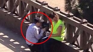 Sosyal medyayı sallayan fotoğrafa Emniyet'ten yalanlama