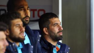 Arda Turan sakatlığı nedeniyle Göztepe maçında forma giyemedi