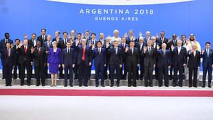 G-20'de beklenen fotoğraf geldi