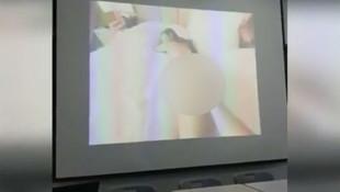 Sınıfta skandal görüntüler ! Çırılçıplak...