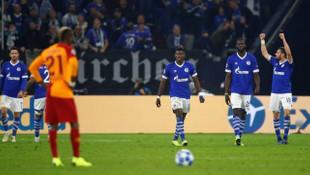 Galatasaray, Şampiyonlar Ligi'nde Schalke 04'e 2-0 yenildi