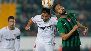 Akhisarspor 2 - 3 Sevilla