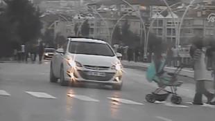 Radara böyle yakalanan sürücüye ceza kesildi