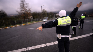 Polis tek tek kontrol etti ! Uygulama bugün başladı