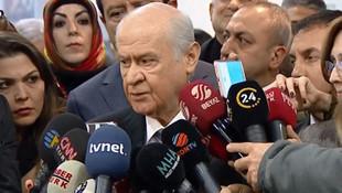 Bahçeli'den ''Cumhur İttifakı'' açıklaması