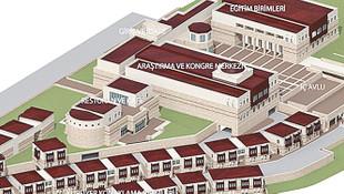 Dinayet de saray yaptırıyor: 80 milyon TL'lik külliye !